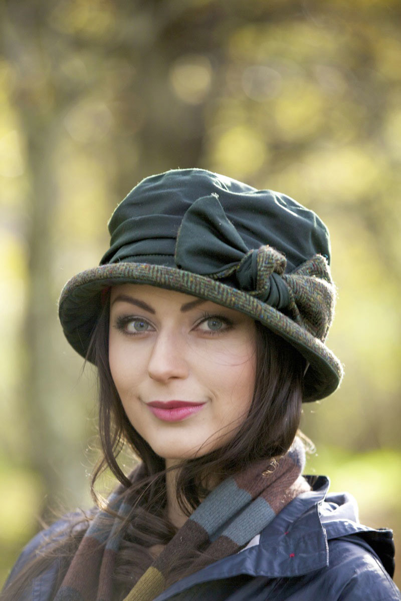 Quality wax cotton hats - perfect stylish rain hats for women 11a5300f4b6